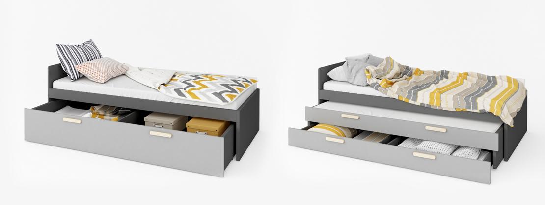 pojedyńcze łóżko do pokoju dziecięcego