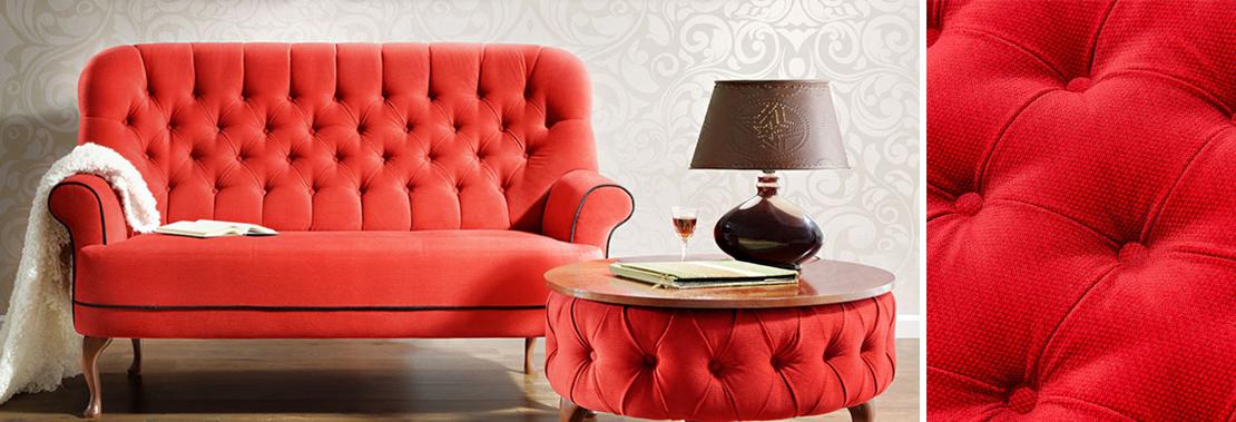 elegancka i gustowna sofa