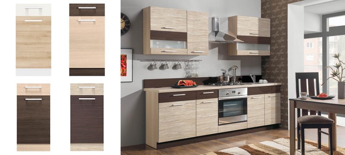 zestaw modułowych mebli do kuchni
