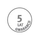 pięć lat gwarancji