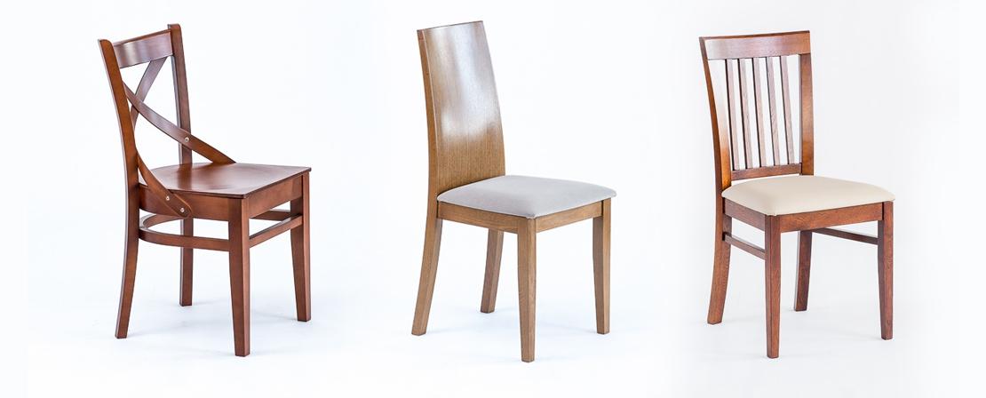 drewniane krzesła do kuchni i jadalni
