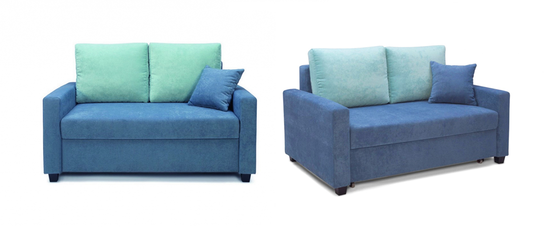 dwuosobowa rozkładana sofa do salonu