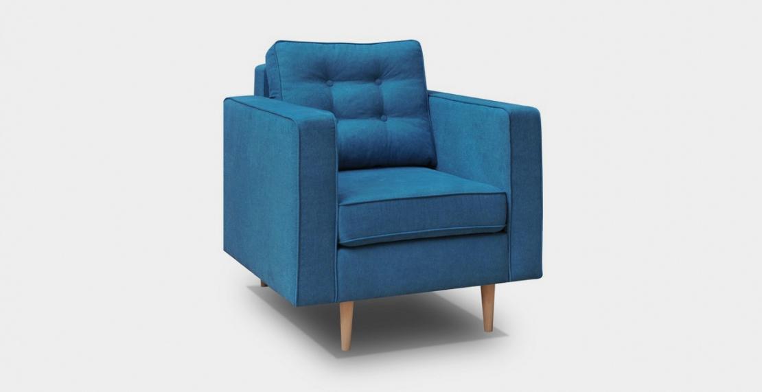 nowoczesny fotel do nowoczesnego salonu