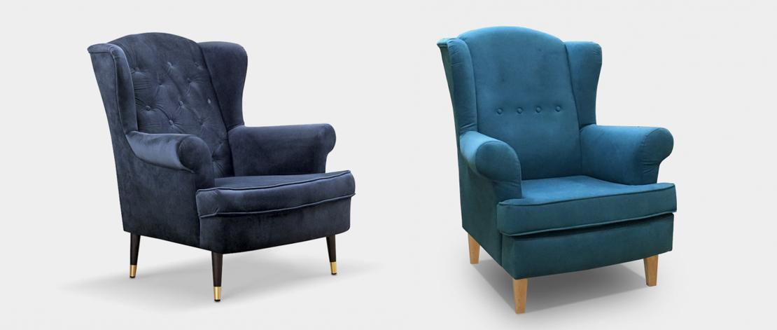 eleganckie fotele do salonu